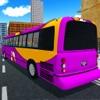 Roadway Sim Tourist Bus Drive To London City