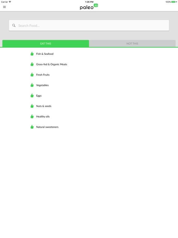 Paleo (io) iPad