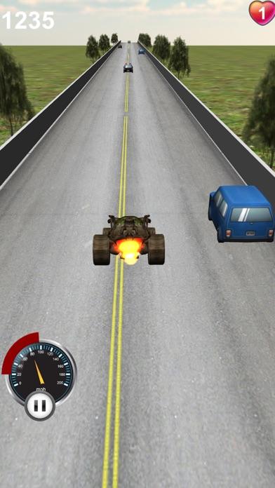 レーシングカーの3Dのスクリーンショット2