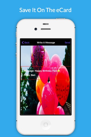 Happy Birthday Wish App By Uply Media screenshot 4