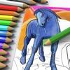 Invisible Pix - Magic coloring book