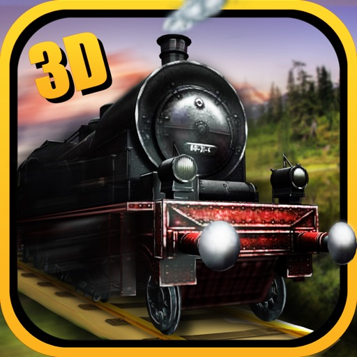 Steam Train Simulator 3D iOS App