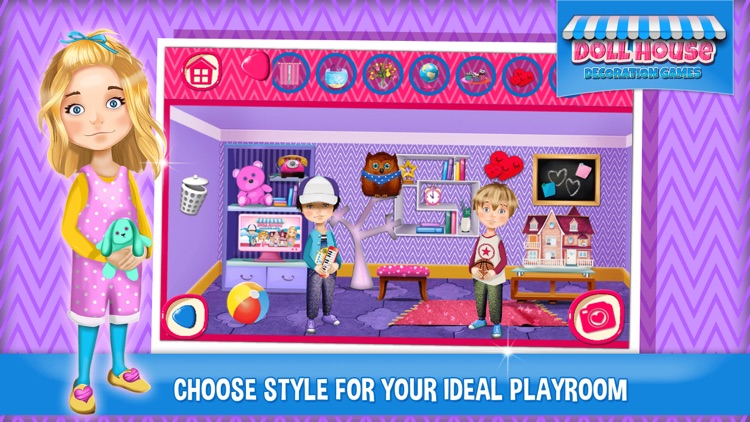 Doll House Decoration Games Dream Home Designer by Nenad Cvetkovic