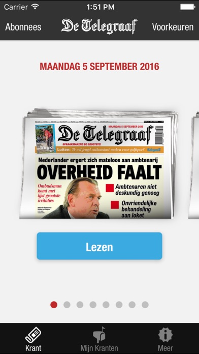 De Telegraaf Krant review screenshots
