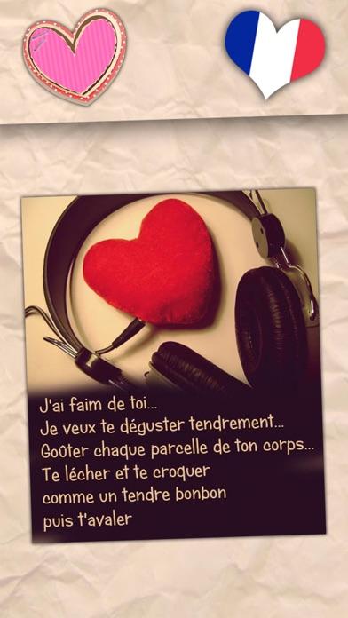 Belles phrases d'amour - Messages romantiquesCapture d'écran de 1