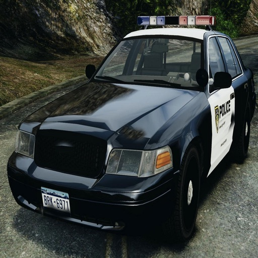 Real Police Car Driving for GTA-V Speed iOS App