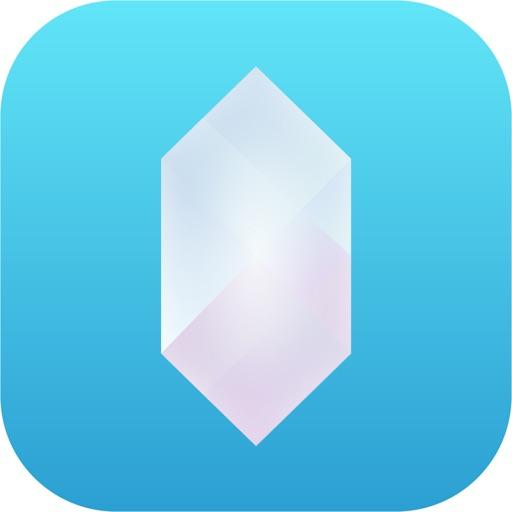 Icone Crystal Adblock – navigation Web sans publicité.