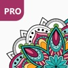 Mandala Coloring Pages PRO - Adult Coloring Book