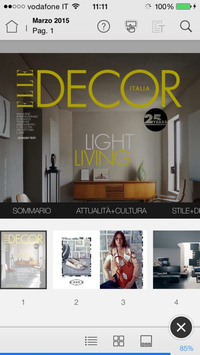 Elle Decor Italia review screenshots