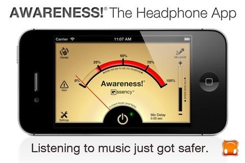 Awareness! The Headphone App screenshot 2
