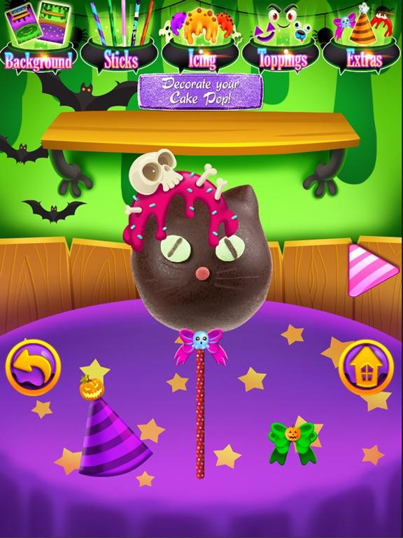 ipad screenshot 2 - Halloween Cake Games