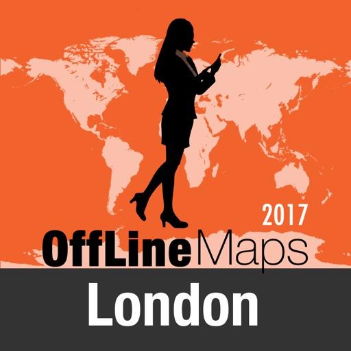 Londres Carte et plan de voyage