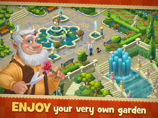 Screenshots of Gardenscapes - New Acres for iPad