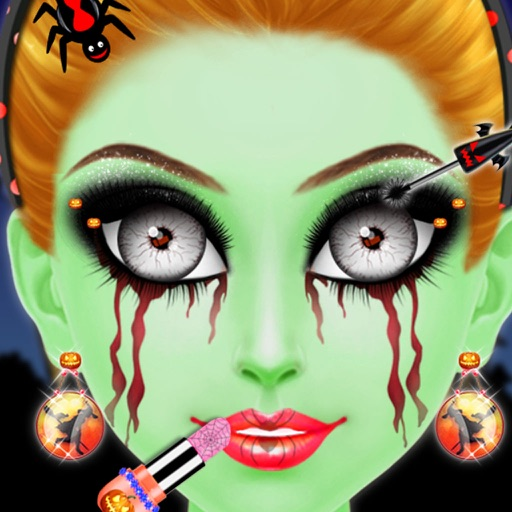 Halloween Makeup Game - Scary Girls Costume Party iOS App