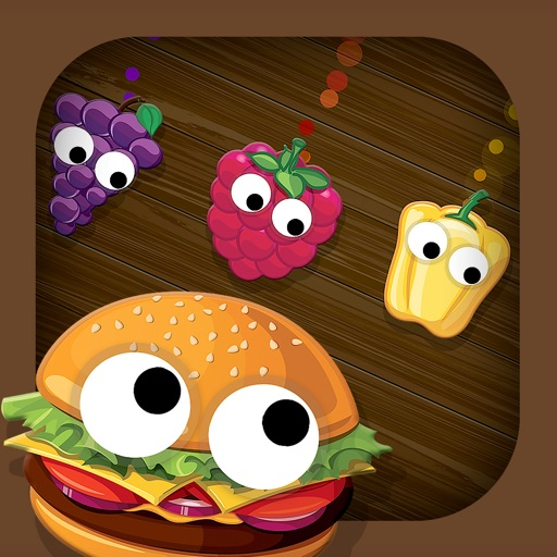 Smart Baby Shapes FOOD: Fun Jigsaw Puzzles and Learning Games for toddlers & little kids iOS App