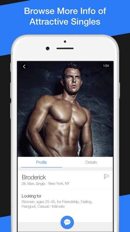 Fitness singles app