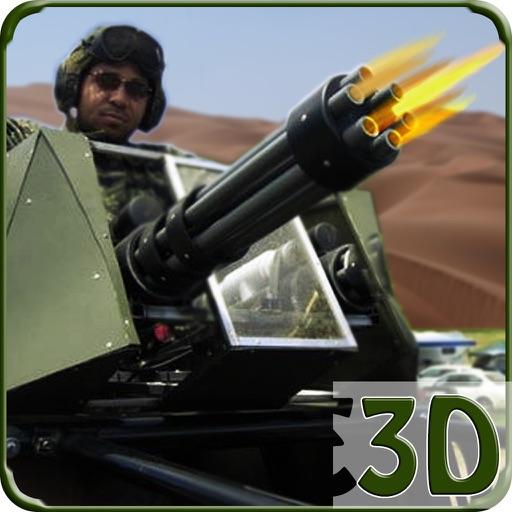 Gunship Gunner Battle BlackOut : Desert Warfare iOS App