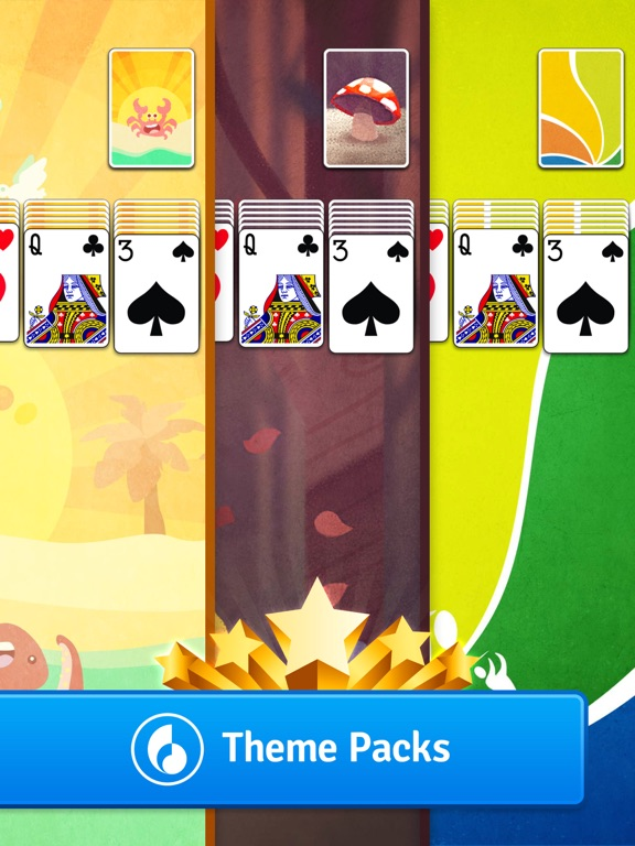 Screenshots of Solitaire by MobilityWare for iPad