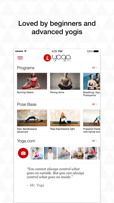 Yoga.com: 300 Poses & Video Classes Screenshot