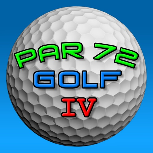 Par 72 Golf IV iOS App