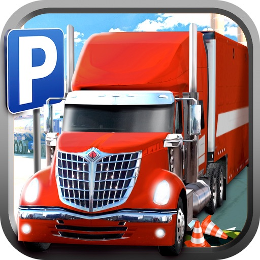 Real Euro Trucker Big Truck Ride For Parking Spot iOS App