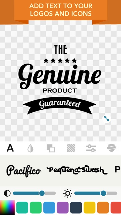 Screenshots of Logo Maker- Logo Creator, Logo Design, Label Maker for iPhone