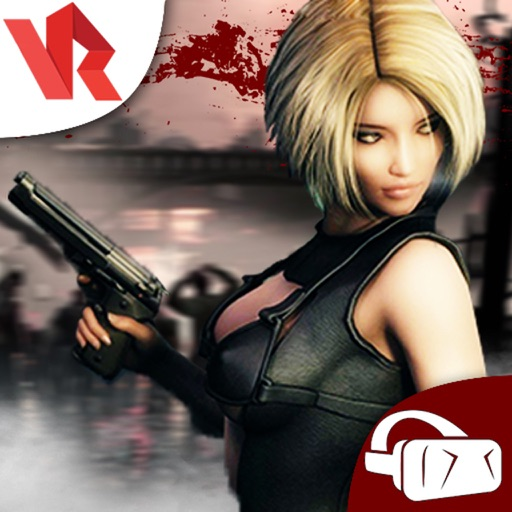 Deadly Zombie Assassin War - Top VR Shooting Game iOS App