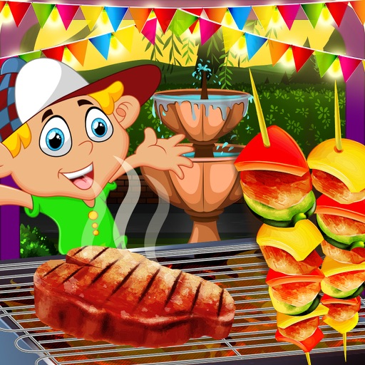 Kids Cooking Restaurant Barbecue Food Maker Game iOS App