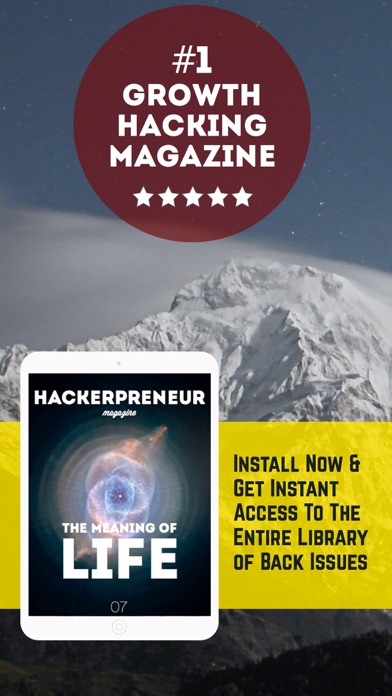 download Hackerpreneur Magazine. For startup entrepreneurs apps 0