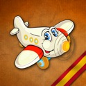 GeoFlight Spain - Fun geography quiz for kids icon
