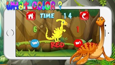 Screenshot of dinosauro colore giochi esercizi test per bambini3