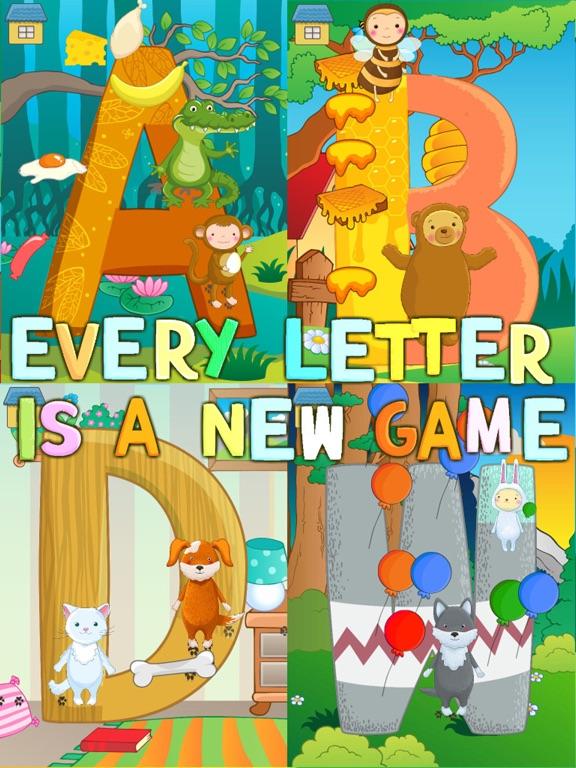 Lustiges englisches Alphabet! Screenshot