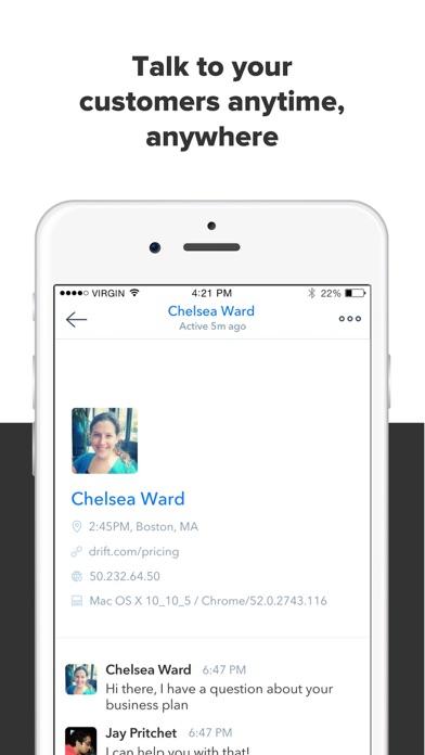 Screenshot of Drift: Messaging For Sales1