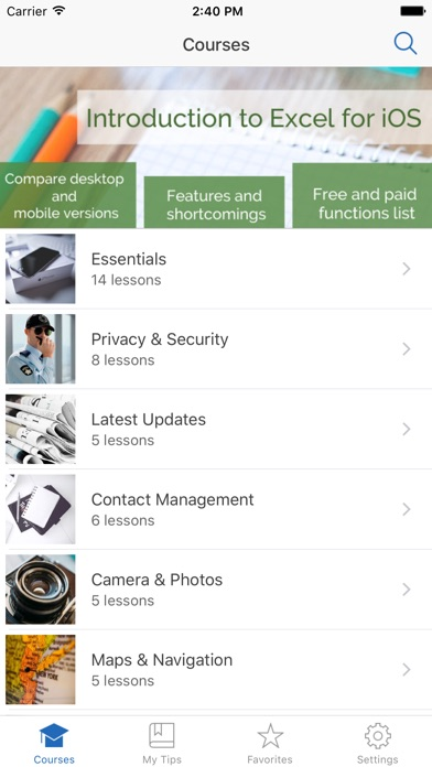 Manual for iPhone with secrets, tips & tricks screenshot one
