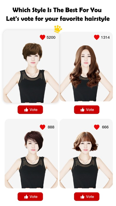Which hair style is best for me lets vote for your new hair iphone screenshot 1 urmus Image collections