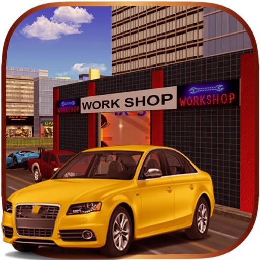 Service Station Car Wash 3D Parking Simulation iOS App