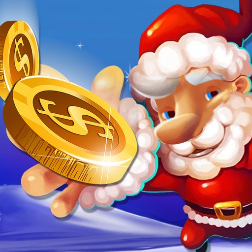 Coin Dozer Christmas Season Spin to Win Games PRO iOS App