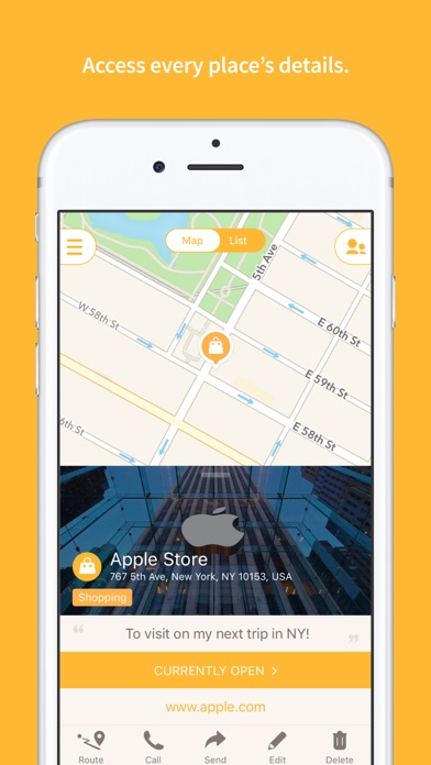 Mapstr The Map Of Your World On The App Store - Download map of us apple