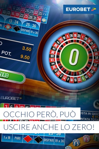 Eurobet Roulette screenshot 4