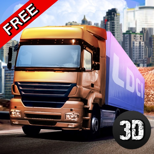 American Truck City Racing Challenge iOS App