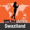 斯威士兰 離線地圖和旅行指南