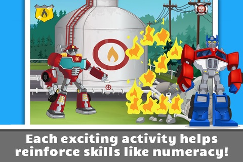 Transformers Rescue Bots: Save Griffin Rock screenshot 3