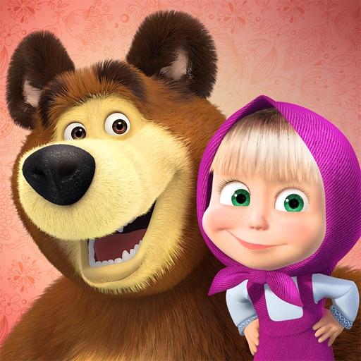 Masha and the Bear: stickers for iMessage By Apps Ministry LLC