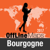 Bourgogne Offline Map and Travel Trip Guide