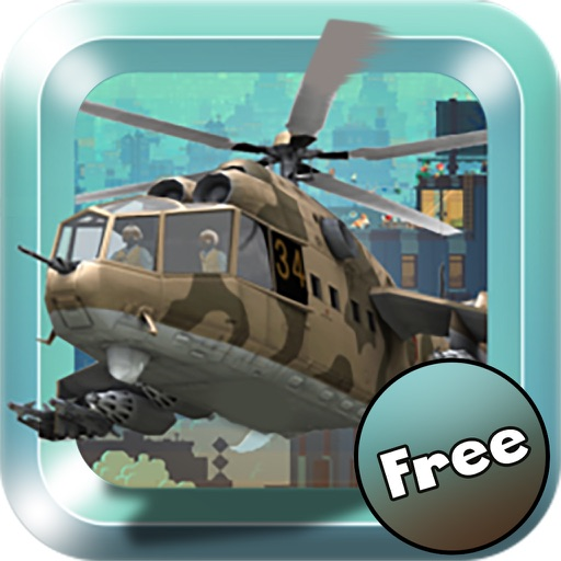 X Helicopter Flight 3D Free iOS App