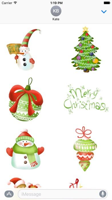 Christmas Stickers OriginalСкриншоты 2