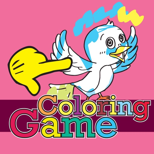 Little Bird Coloring Book for Kids and Toddlers iOS App