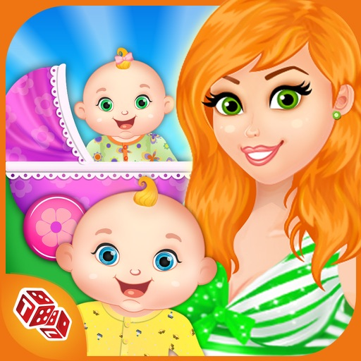 My Newborn Baby Twins - Mommy's Little Helper iOS App