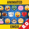 3D Animated Emoticons Keyboard para iPhone + iPad