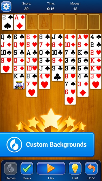 FreeCell Solitaire Card Game screenshot four